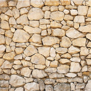 Vliestapete Mauer 01