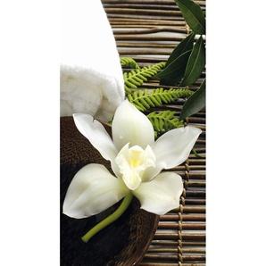 Vliestapete Wellness Orchidee