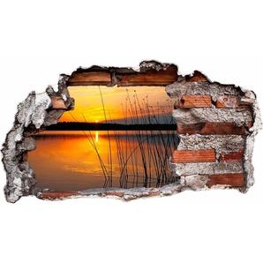 Wandtattoo »Sonnenuntergang am See«