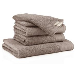 Walra Handtuch Set »Soft Cn« (Spar-Set, 5-tlg), mit gewebter Bordüre (5-tlg)