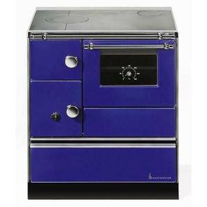 Wamsler Festbrennstoffherd K176a-70 Links Blau Hxbxt 85x70x60 Cm (5