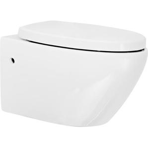 Wand-WC-Set Rio spülrandlos 2-tlg.
