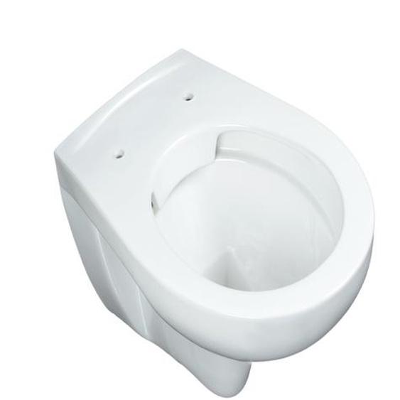 Wand WC weiß spülrandlos