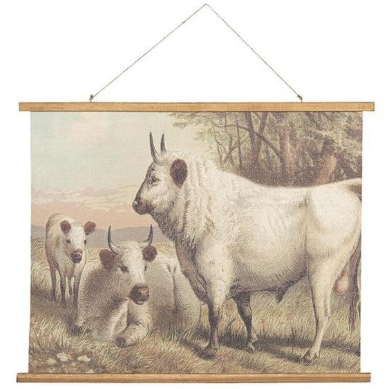 Wandbehang Kühe