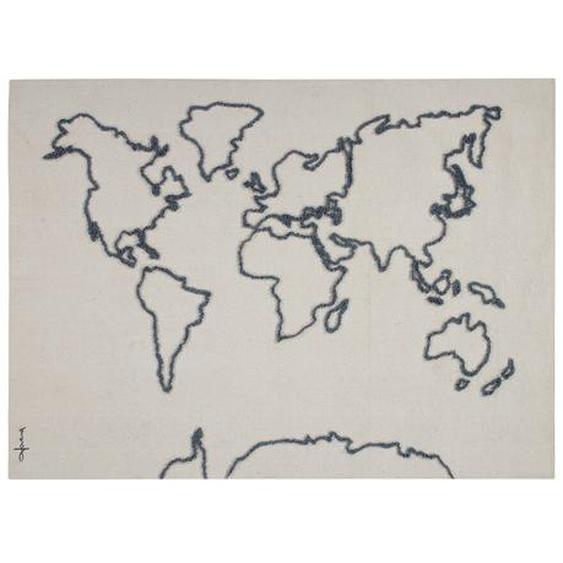 Wandbehang Weltkarte
