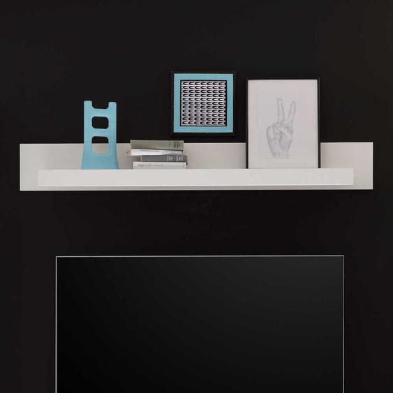 Wandboard in Weiß 150 cm