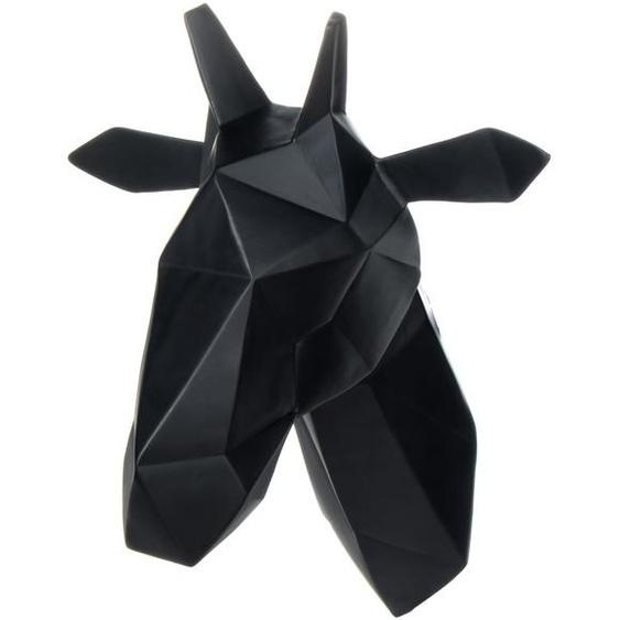 Wanddeko Schwarz ca. 33cm (L) x 25cm (B) x 39,5cm (H)