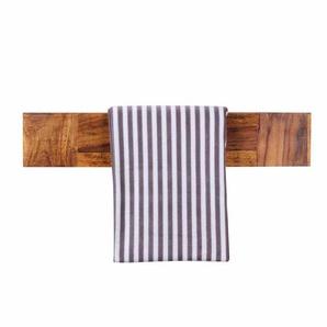 Wandhalter für Handtücher Sheesham Massivholz