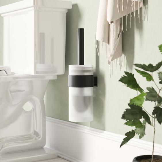 Wandmontierter Toilettenbürste & Halter