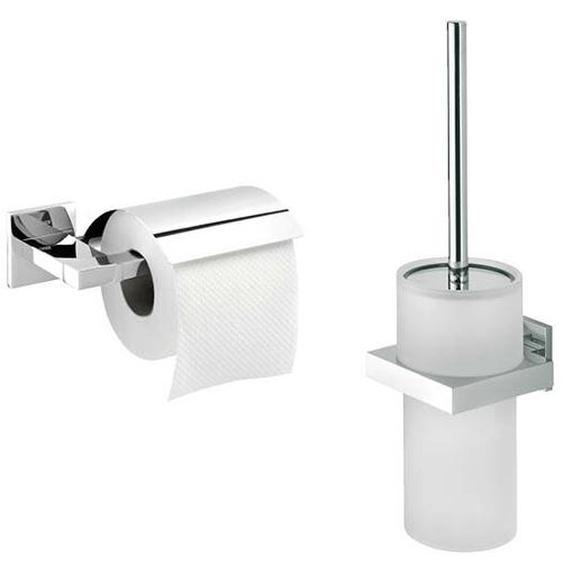 Wandmontiertes Toilettenbürsten-Set Farner