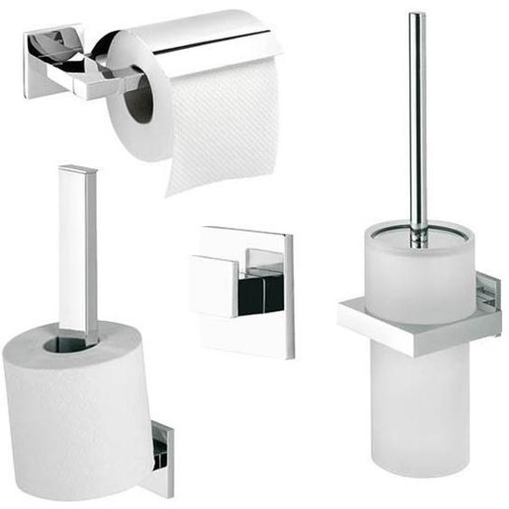 Wandmontiertes Toilettenbürsten-Set Items