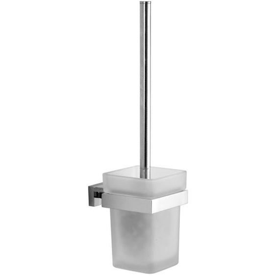 Wandmontiertes Toilettenbürsten-Set Pulham