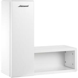 Wandregal | weiß | 60 cm | 60 cm | 21,9 cm | Möbel Kraft