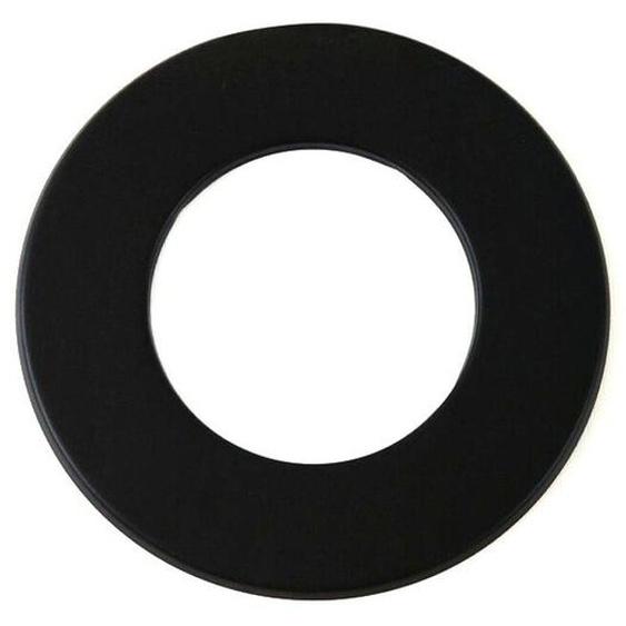 Wandrosette Dn 150 Mm Schwarz 50 Mm Ring Rauchrohr Kamin Stahl Blende