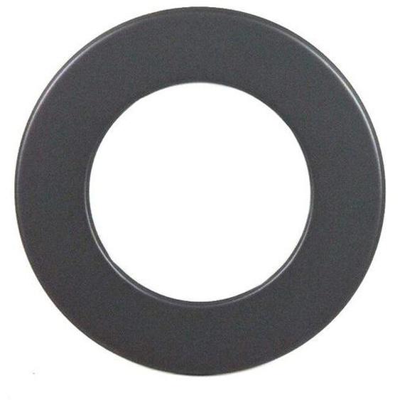 Wandrosette Dn 200 Mm Ring 50 Mm Grau Rauchrohr Kamin Stahl Blende Neu