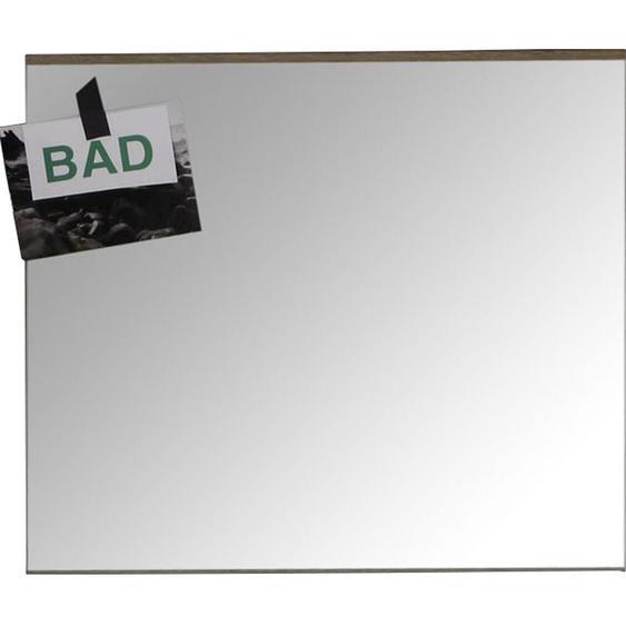 Wandspiegel 60 cm Set-One Weiß-Eiche San Remo