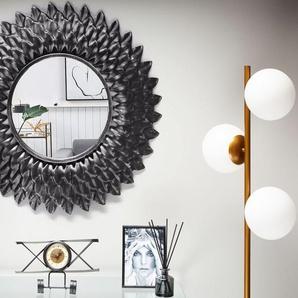 Wandspiegel altsilber rund ø70 cm LARRAU