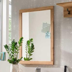 Wandspiegel aus Eiche Massivholz 70 cm breit