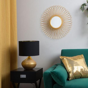 Wandspiegel gold rund ø55 cm CAMBIA