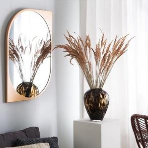 Wandspiegel oval gold 65 x 90 cm HIREL