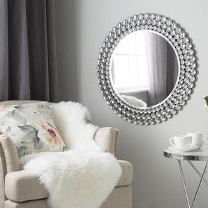 Wandspiegel silber rund ø70 cm STENAY