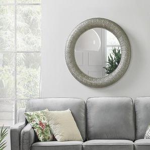Wandspiegel silber rund ø80 cm CHANNAY