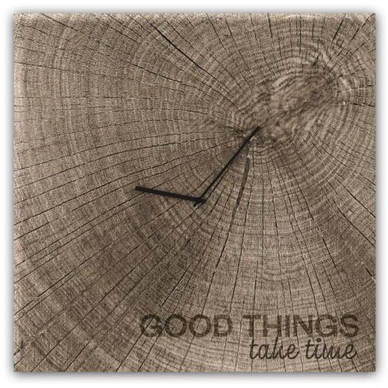Wanduhr Good Times Geräuschlos