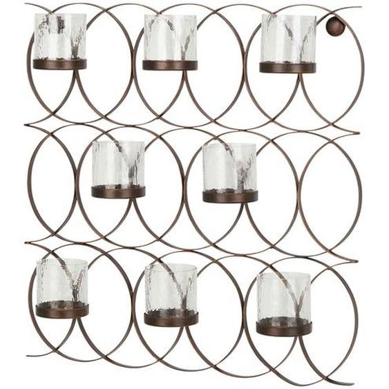 Wandwindlicht - kupfer - Glas , Metall | Möbel Kraft