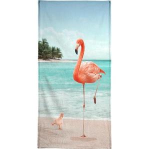 Wannabe Flamingo - Strandtuch