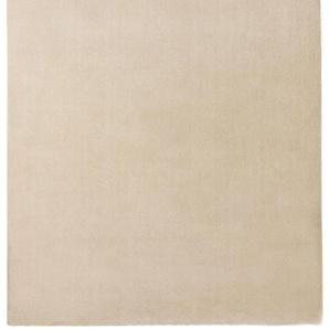 Waschbarer Hochflorteppich Lahty Cream 160x230 cm