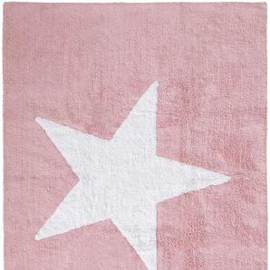 Waschbarer Kinderteppich Bambini Rosa 120x160 cm
