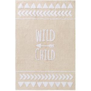 Waschbarer Kinderteppich Inka Beige 80x120 cm