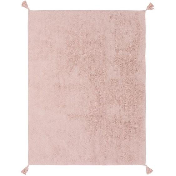 Waschbarer Kinderteppich Tilda Rosa 150x220 cm