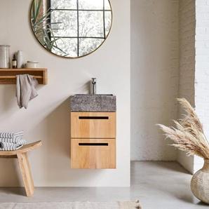 Waschbeckenunterschrank mit Wandaufhängung 41 cm