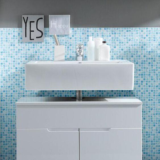 Waschbeckenunterschrank Spice Badschrank Waschbeckenschrank Mdf Weiß