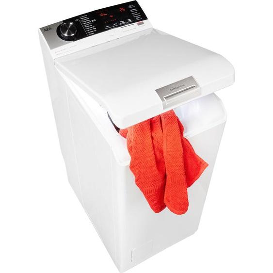 Waschmaschine, 40x89x60 cm (BxHxT), Energieeffizienzklasse D, allergikergeeignet, AEG, Material Baumwolle, Wolle, Seide, Aqua