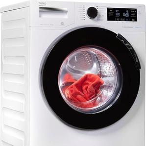 BEKO Waschmaschine WTV8744D, Fassungsvermögen: 8 kg, weiß, Energieeffizienzklasse: A+++