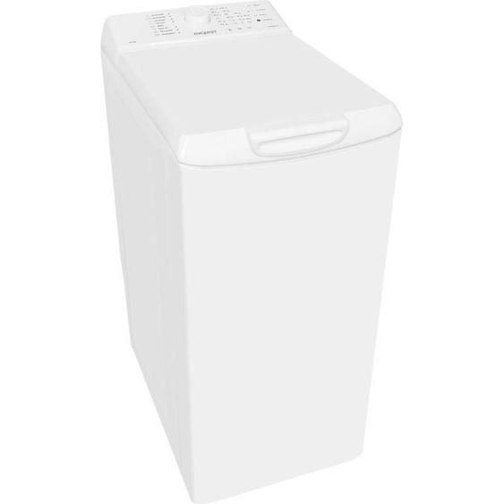Waschmaschine Toplader LTO 1006-18, 5,5 kg, 1000 U/min, Energieeffizienz: A++, 40x85x60 cm (BxHxT), Energieeffizienzklasse A++, exquisit, Material Baumwolle, Wolle, Synthetik