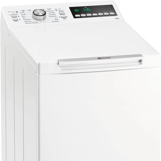 Waschmaschine Toplader WAT 6312 N, 40x90x60 cm (BxHxT), Energieeffizienzklasse D, BAUKNECHT, Material Baumwolle, Wolle