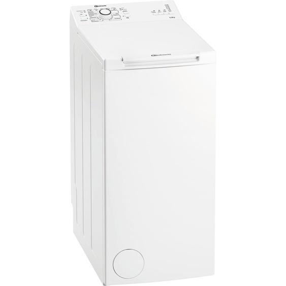 Waschmaschine Toplader WAT Prime 550 SD N, 5,5 kg, 1000 U/min, Energieeffizienz: E, 40x90x60 cm (BxHxT), Energieeffizienzklasse E, BAUKNECHT, Material Baumwolle, Wolle