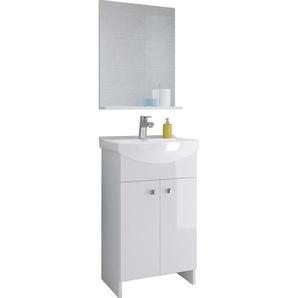 Waschplatz Sati 60,5 cm Weiß