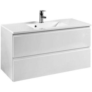 Waschtisch COMO-03, Hochglanz weiß, B x H x T ca.: 100 x 56 x 47cm