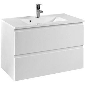 Waschtisch COMO-03, Hochglanz weiß, B x H x T ca.: 80 x 56 x 47cm