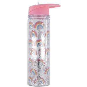 Wasserflasche Mit Mundstück, 500 Ml, Rosa