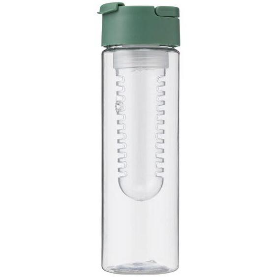 Wasserflasche Mit Siebeinsatz, 700 Ml, Grün