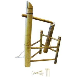 Wasserspiel Shishi Odoshi aus Bambus