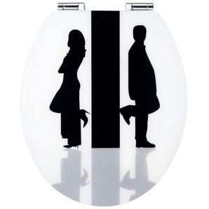 WC-Sitz »Art of Acryl«, Mit Absenkautomatik