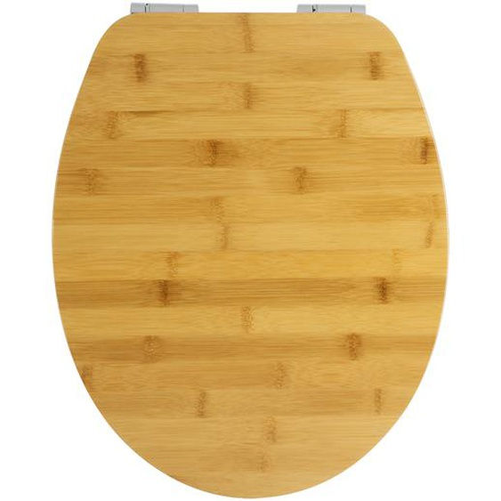 WC-Sitz Bambus braun