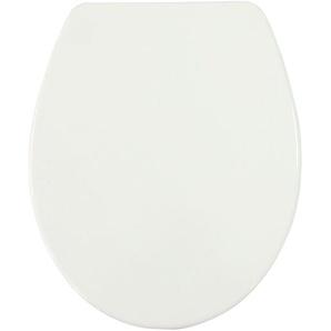 WC-Sitz Basic mit Absenkautomatik, weiß