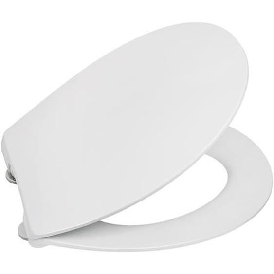 WC-Sitz Extraflach mit Absenkautomatik, weiß